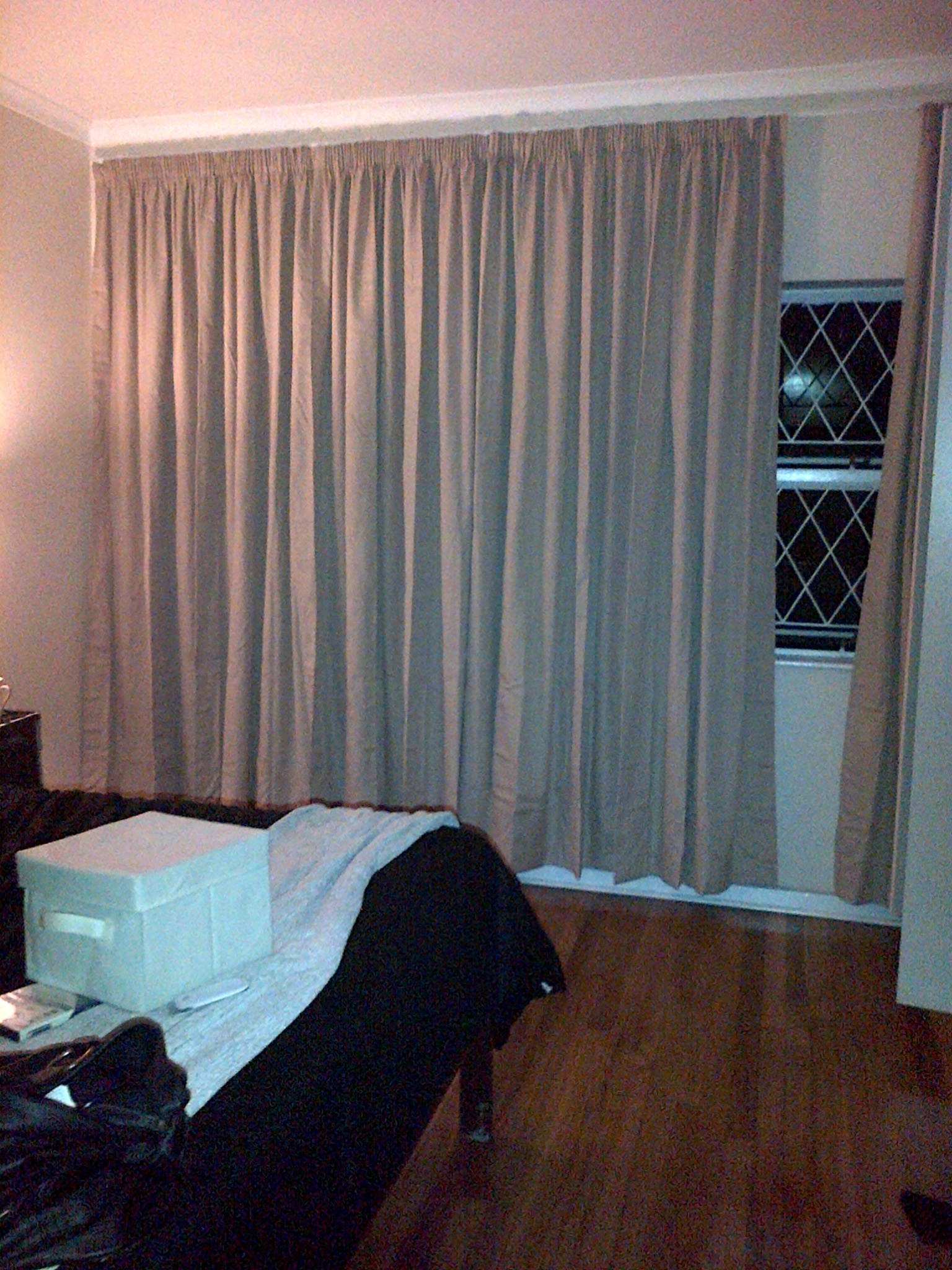 Curtains first home a